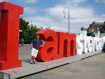I amsterdam (2005) logo