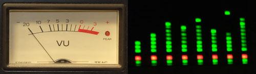 Analog Vu Meter : Myradio logo