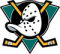 1993: The Mighty Ducks of Anaheim logo