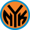 1992: The New York Knicks logo