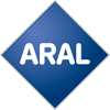 Rated 4.8 the Aral logo