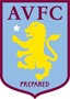Rated 4.9 the Aston Villa logo
