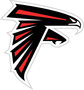 Rated 6.4 the Atlanta Falcons logo
