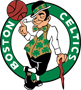 Rated 4.9 the Boston Celtics logo