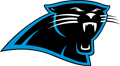Rated 4.9 the Carolina Panthers logo