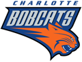 Rated 4.9 the Charlotte Bobcats logo