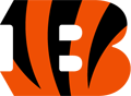 Rated 4.9 the Cincinnati Bengals logo