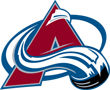 Rated 4.9 the Colarado Avalanche logo