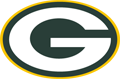 Rated 4.9 the Green Bay Packers logo