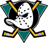 Rated 4.9 the Mighty Ducks of Anaheim logo