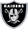 Rated 4.9 the Oakland Raiders logo