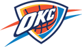 Rated 4.9 the Oklahoma City Thunder logo