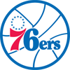 Rated 5.0 the Philadelphia 76ers logo