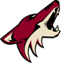Rated 6.4 the Phoenix Coyotes logo