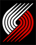 Rated 4.9 the Portland Trail Blazers logo