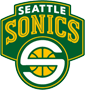 Rated 4.9 the Seattle Supersonics logo