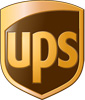 Rated 4.0 the United Parcel Service logo