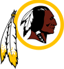 Rated 4.9 the Washington Redskins logo