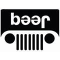 Jeep Beer logo parody