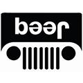 Jeep Beer logo parody